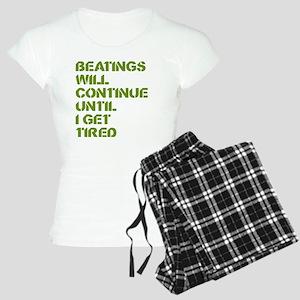 Beatings Women's Light Pajamas