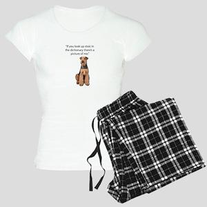 Stoic Airedales Epitome of Women's Light Pajamas