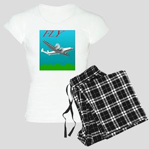 Vintage Style Poster Lockhe Women's Light Pajamas