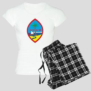 Guam Coat Of Arms Women's Light Pajamas