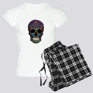 Colorskull on Black Pajamas