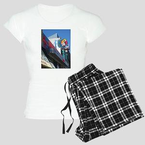 Albuquerque Street Scene Women's Light Pajamas