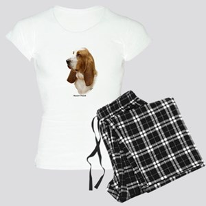 Basset Hound 9J055D-15 Women's Light Pajamas
