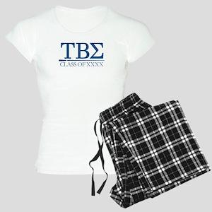 Tau Beta Sigma Class of XXX Women's Light Pajamas