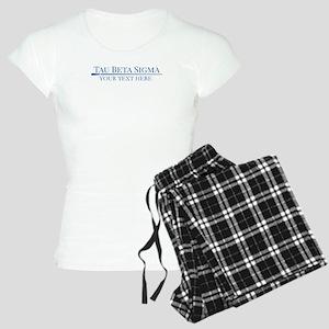Tau Beta Sigma Personalized Women's Light Pajamas