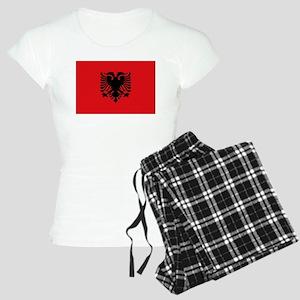 Albanian flag Women's Light Pajamas
