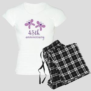 45th Anniversary (Wedding) Women's Light Pajamas