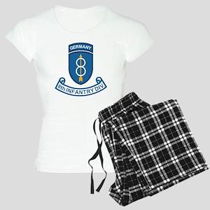 Army-8th-Infantry-Div-6-Bon Women's Light Pajamas