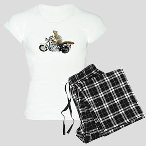 Motorcycle Squirrel Women's Light Pajamas