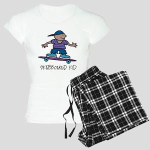 Skateboard Kid Women's Light Pajamas