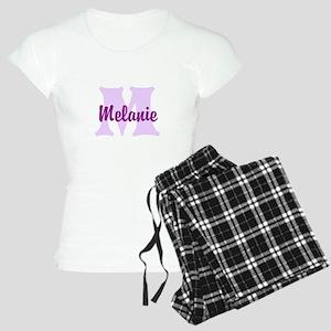 CUSTOM Lilac Purple Monogram Pajamas