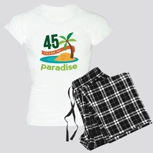 45th Anniversary (tropical) Women's Light Pajamas