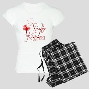 SCATTER KINDNESS Women's Light Pajamas