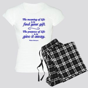 Meaning of LIFE Women's Light Pajamas