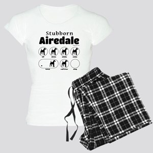 Stubborn Airedale v2 Women's Light Pajamas
