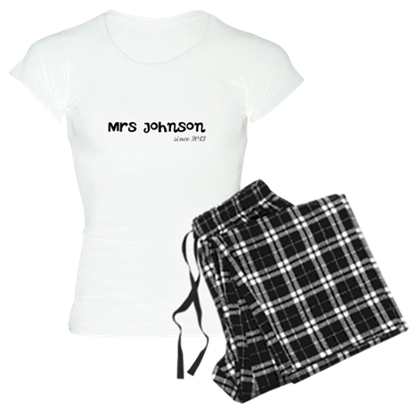 Mrs since wedding year Women's Light Pajamas