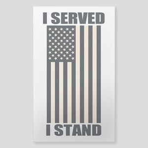 I Served I Stand Sticker
