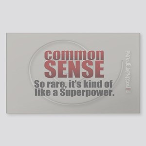 Common Sense Sticker