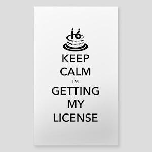 sweet 16 drivers license cake