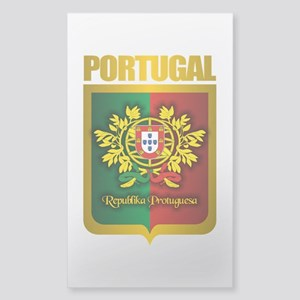 """Portuguese Gold"" Sticker (Rectangle)"