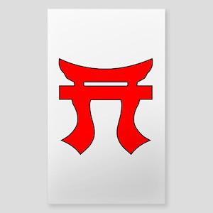 187th Infantry Regt Tori Sticker (Rectangle)