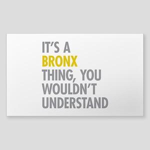 Bronx NY Thing Sticker (Rectangle)