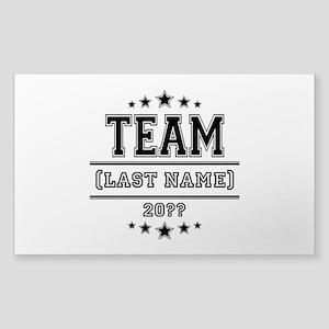 Team Family Sticker (Rectangle)