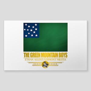 """""""The Green Mountain Boys"""" Sticker (Rectangle)"""