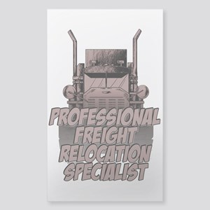 Professional Freight Relocati Sticker (Rectangle)