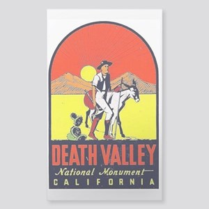 Death Valley Nat'l Monument Sticker (Rectangle)