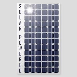 Solar Panel Sticker (Rectangle)
