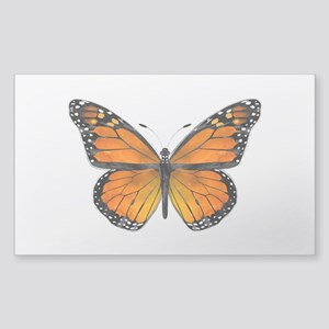 Monarch Butterfly Sticker (Rectangle)