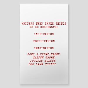 Writer Inspiration-Red Sticker
