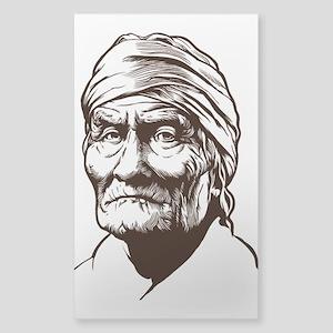 Geronimo Sticker (Rectangle)