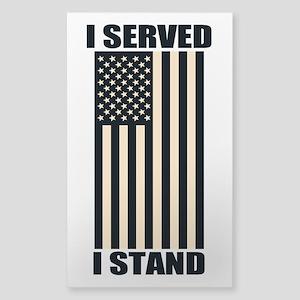 I Served I Stand Sticker