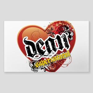 Dean Winchester Sticker (Rectangle)