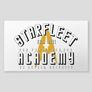 Starfleet Academy Star Trek Or Sticker (Rectangle)