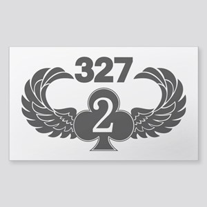 2-327 (2 of Clubs-1) Sticker (Rectangle)