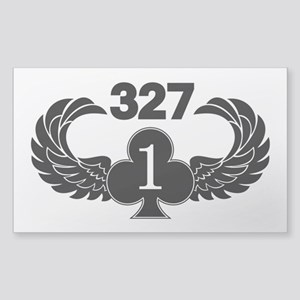 1-327 1-of-Clubs Sticker (Rectangle)