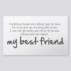My best friend Sticker