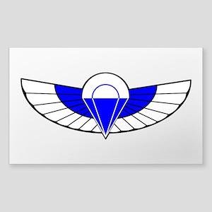 SAS Parchutist Badge Sticker (Rectangle)