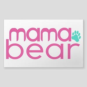 Mama Bear - Family Matching Sticker (Rectangle)