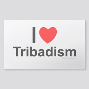 Tribadism Sticker (Rectangle)