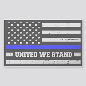 Thin Blue Line United Sticker