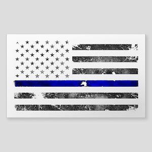 Thin Blue Line - Blue Lives Matter Sticker