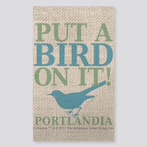 Portlandia Put A Bird On It Sticker