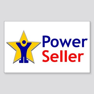 Ebay Power Seller Rectangle Stickers Cafepress
