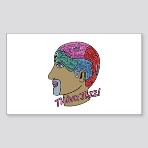 THINK JAZZ! Sticker