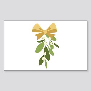 Mistletoe Branch Christmas Decoration Sticker