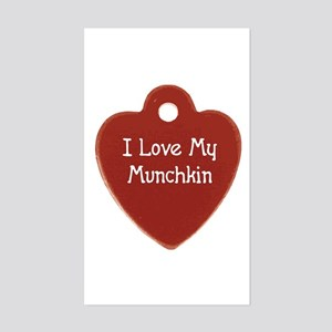 Love Munchkin Rectangle Sticker